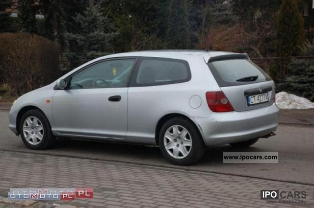 Honda Civic 1.7 2002 photo - 8