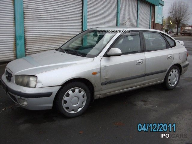 Hyundai Elantra 1.6 2000 photo - 8