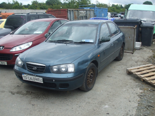 Hyundai Elantra 1.6 2002 photo - 10