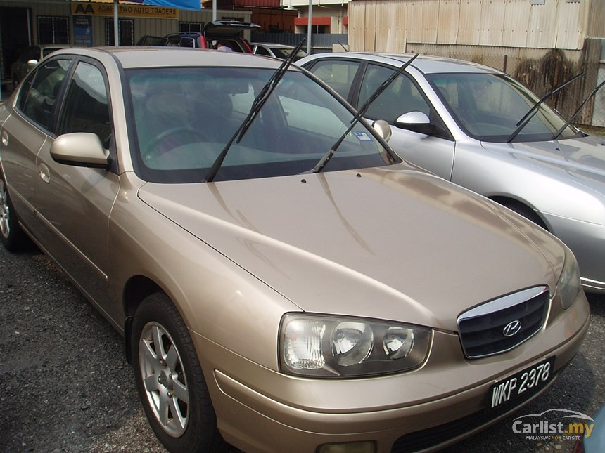 Hyundai Elantra 1.8 2003 photo - 3