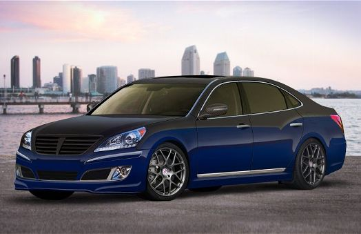 Hyundai Equus 4.6 2010 photo - 10