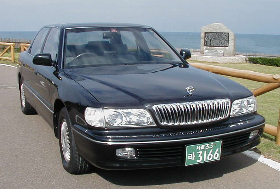 Hyundai Grandeur 2.4 1992 photo - 10