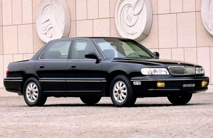 Hyundai Grandeur 2.4 1992 photo - 3