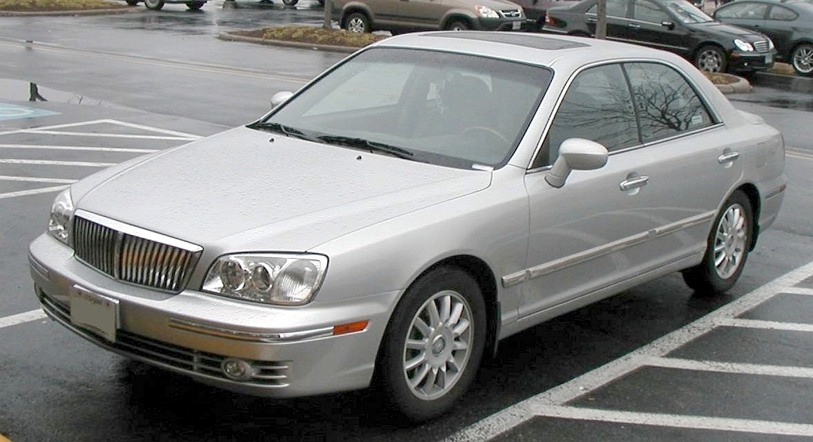 Hyundai Grandeur 2.5 2003 photo - 6