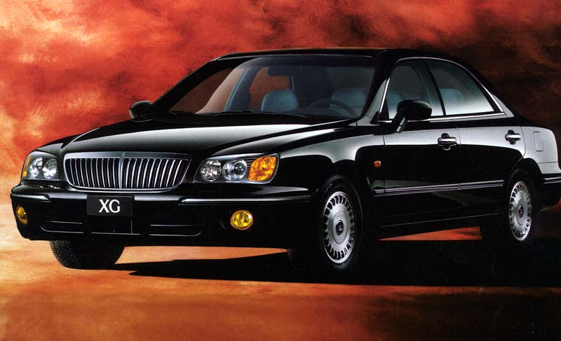 Hyundai Grandeur 2.5 2003 photo - 7