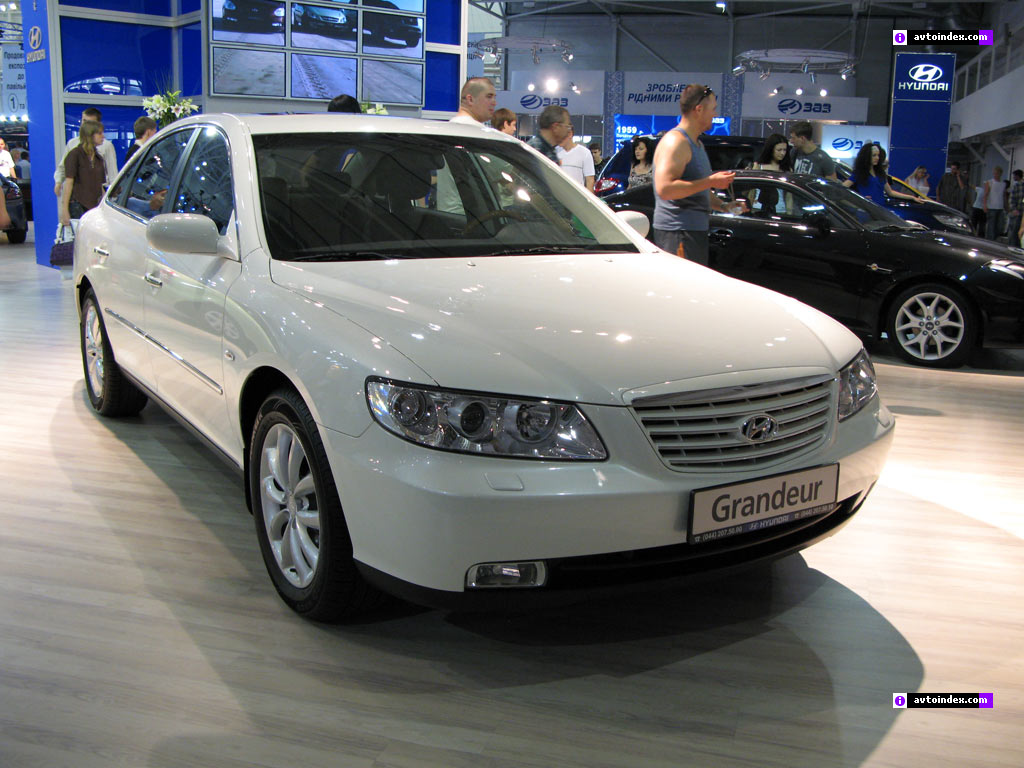 Hyundai Grandeur 3.8 2007 photo - 2