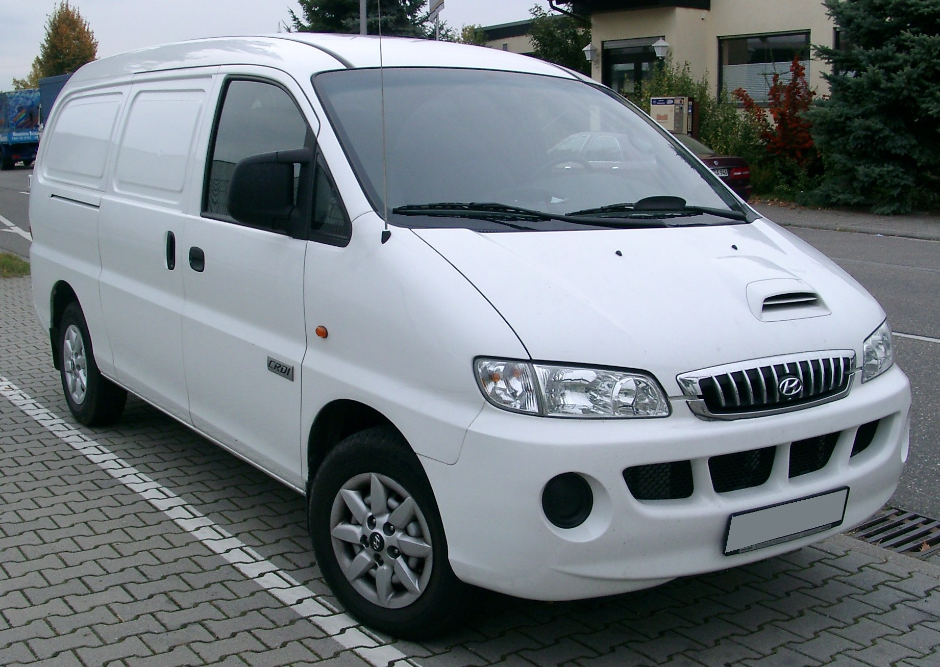 Hyundai H-1 2.5 2002 photo - 3
