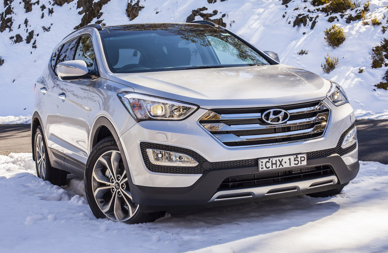 Hyundai Santa Fe 2.4 2013 photo - 3