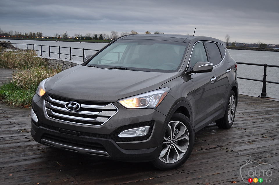 Hyundai Santa Fe 2.4 2013 photo - 8