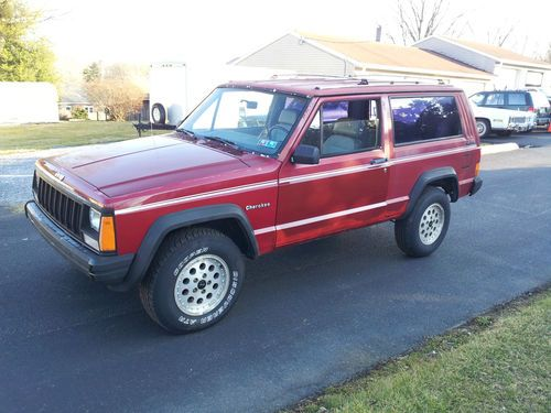 Jeep Cherokee 2.5 1989 photo - 3