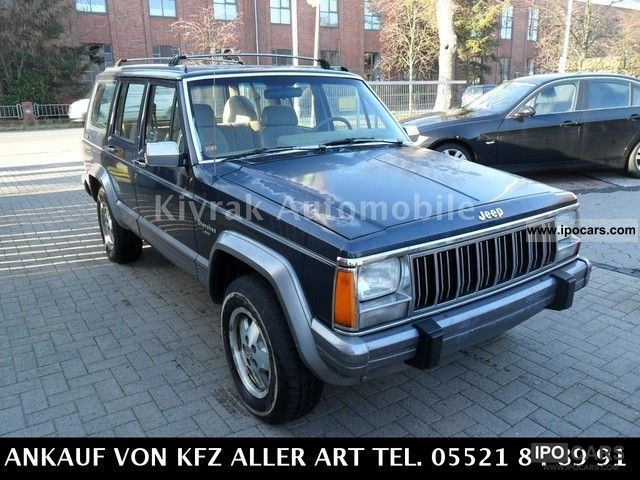 Jeep Cherokee 2.5 1992 photo - 11
