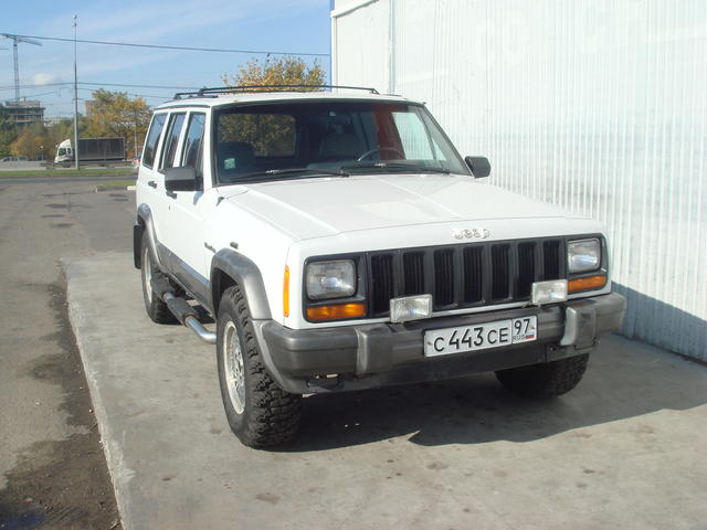 Jeep Cherokee 2.5 1992 photo - 7