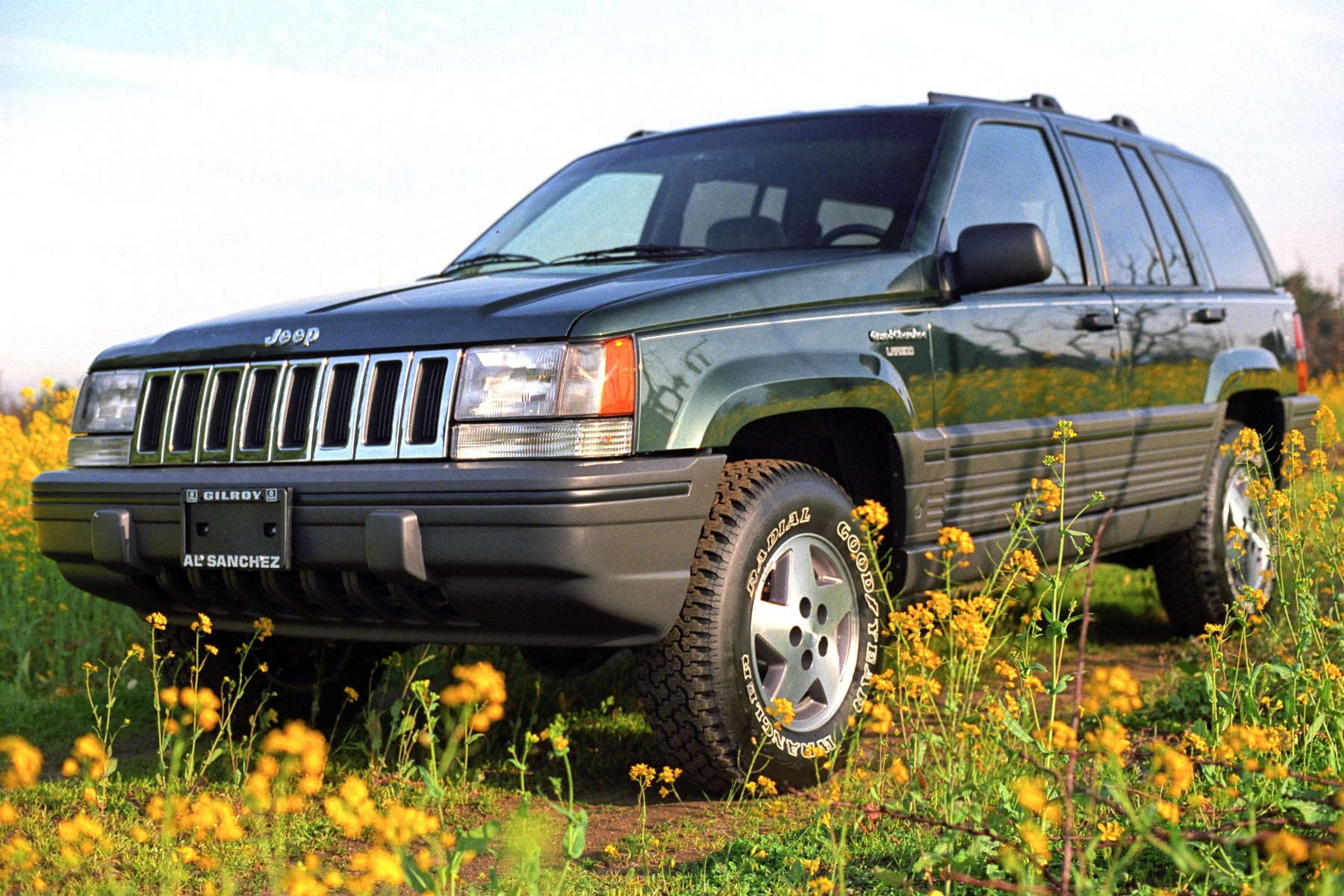 Jeep Grand Cherokee 4.0 1993 photo - 5