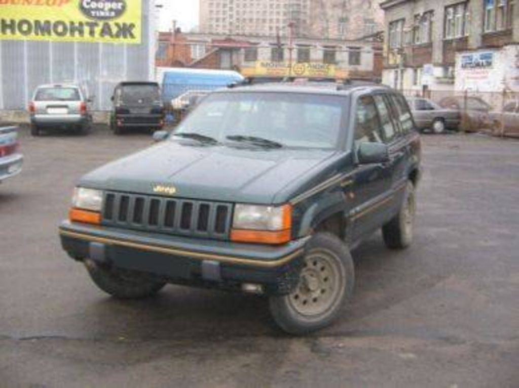 Jeep Grand Cherokee 4.0 1993 photo - 6