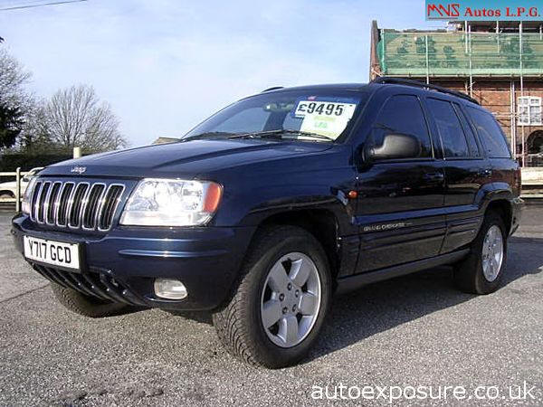 Jeep Grand Cherokee 4.7 2001 photo - 2