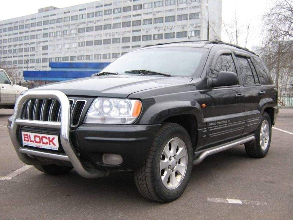 Jeep Grand Cherokee 4.7 2001 photo - 3