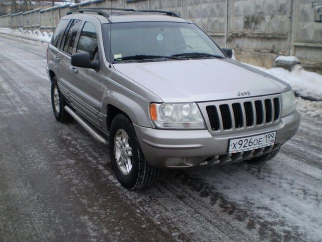 Jeep Grand Cherokee 4.7 2001 photo - 7