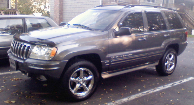 Jeep Grand Cherokee 4.7 2002 photo - 4