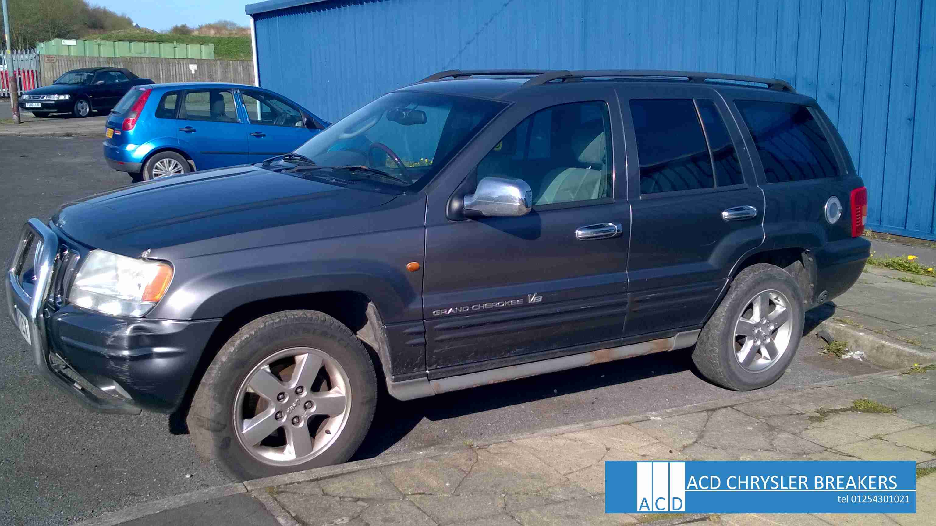 Jeep Grand Cherokee 4.7 2002 photo - 5