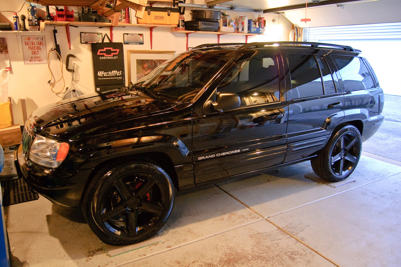 Jeep Grand Cherokee 4.7 2002 photo - 6