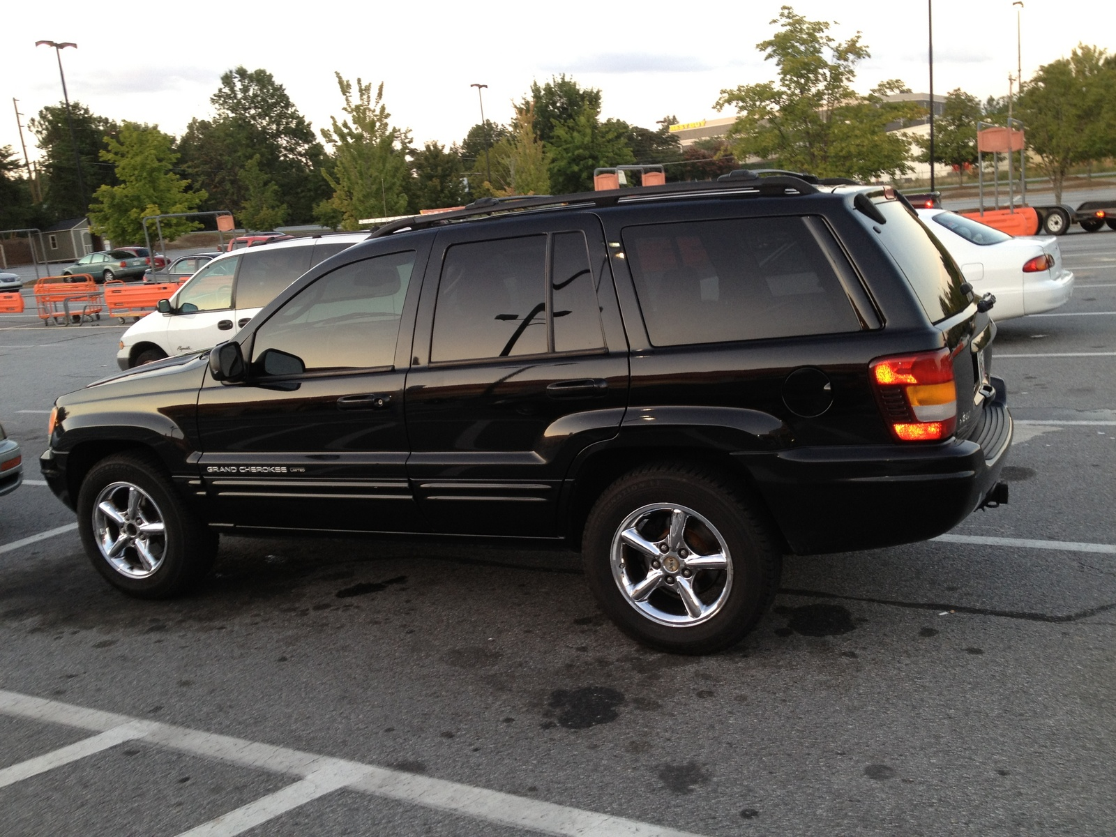 Jeep Grand Cherokee 4.7 2002 photo - 9