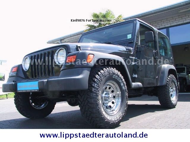 Jeep Wrangler 2.5 2001 photo - 11
