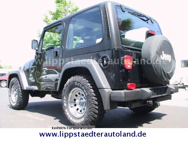 Jeep Wrangler 2.5 2001 photo - 12