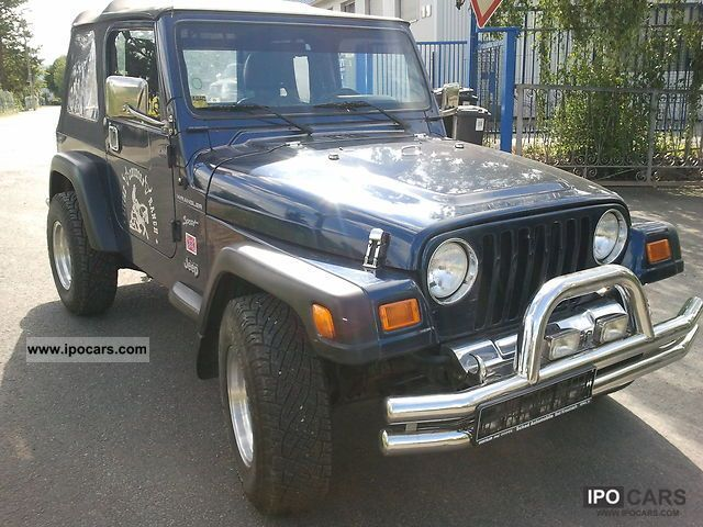 Jeep Wrangler 2.5 2001 photo - 2
