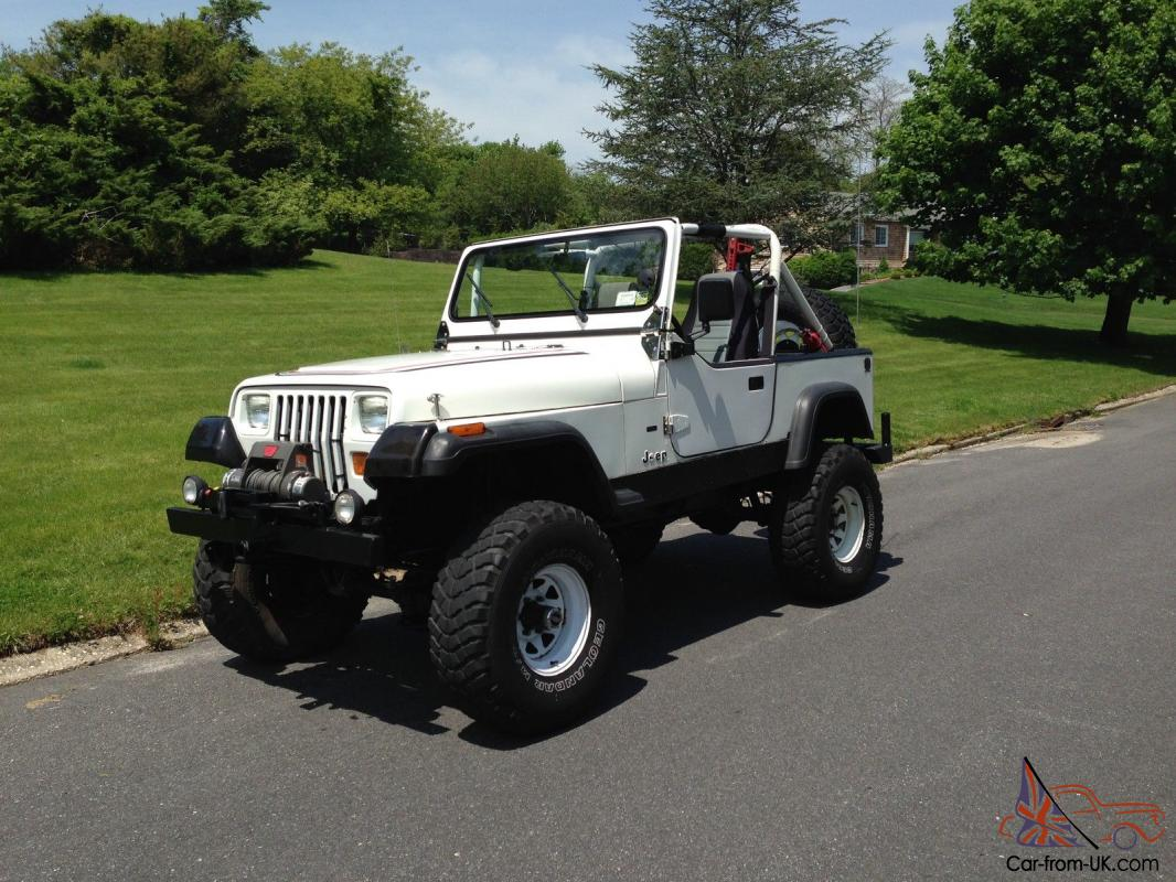 Jeep Wrangler 4.0 1987 photo - 5