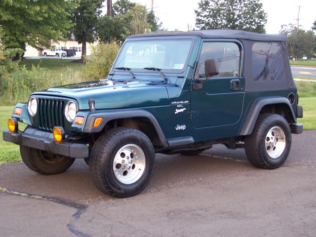 Jeep Wrangler 4.0 1998 photo - 10