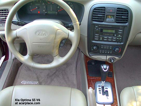 Kia Optima 2.4 2002 photo - 8
