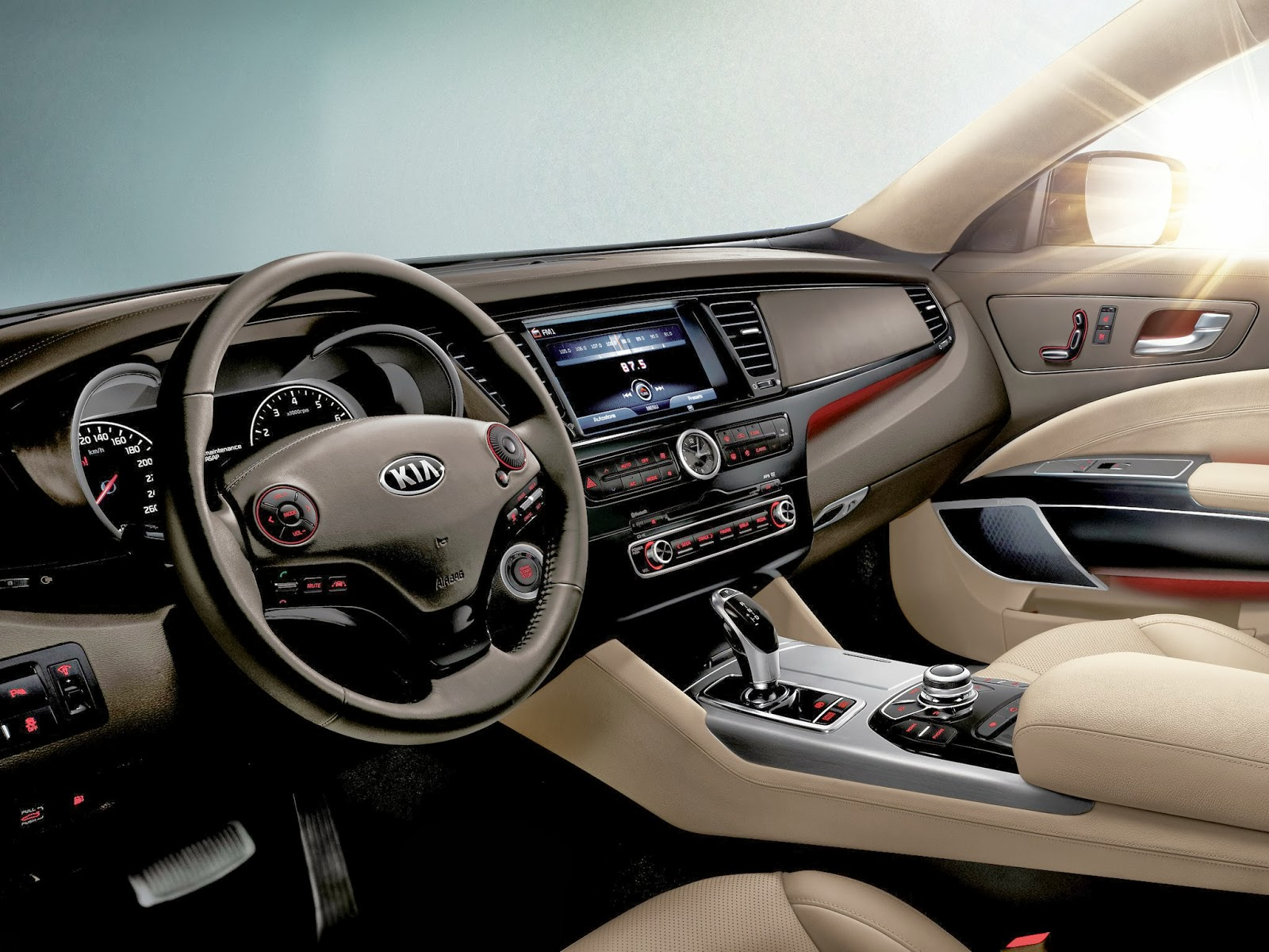 Kia Quoris 3.8 2014 photo - 2