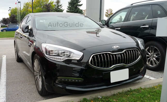 Kia Quoris 3.8 2014 photo - 9