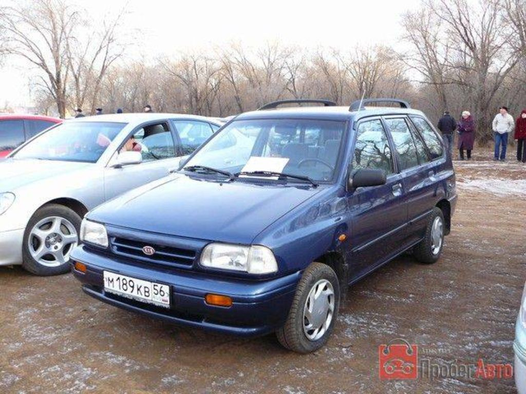 kia rio 1 3 1995 technical specifications interior and exterior photo. Black Bedroom Furniture Sets. Home Design Ideas