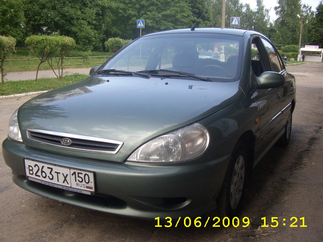 Kia Rio 1.5 2001 photo - 5