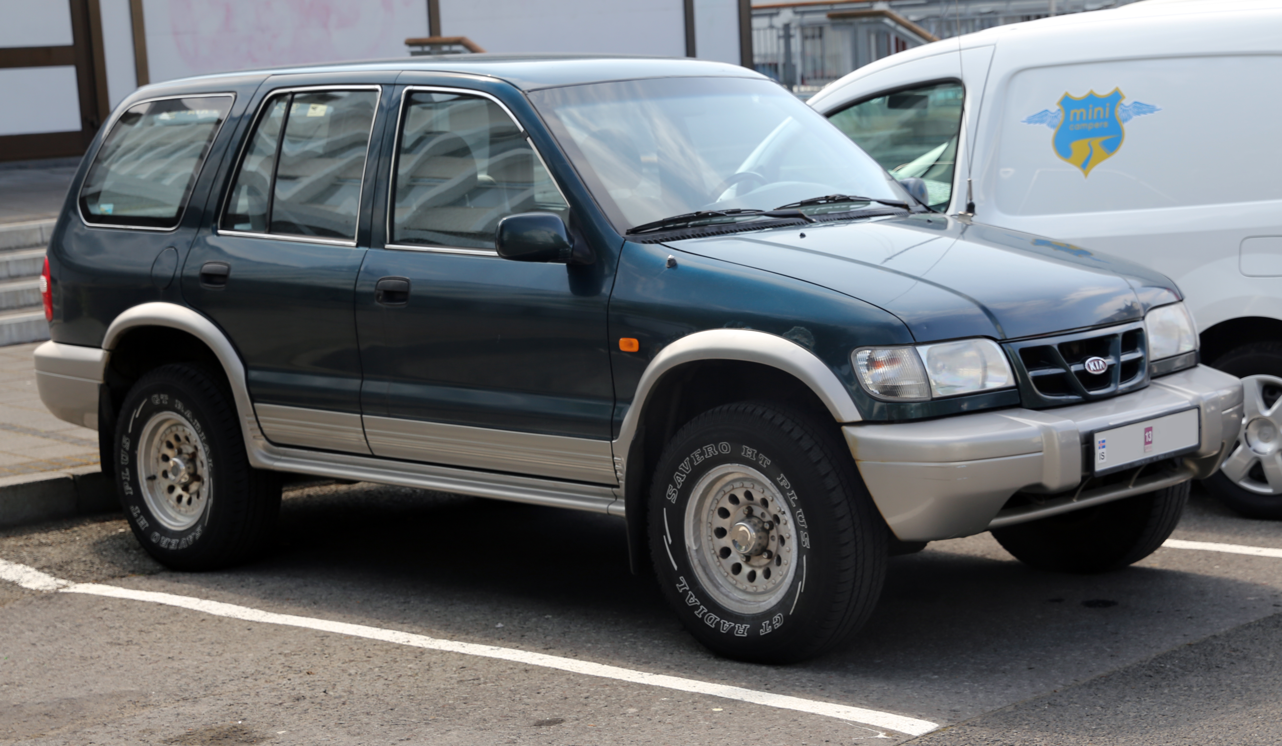 Kia Sportage 2.0 2001 photo - 1