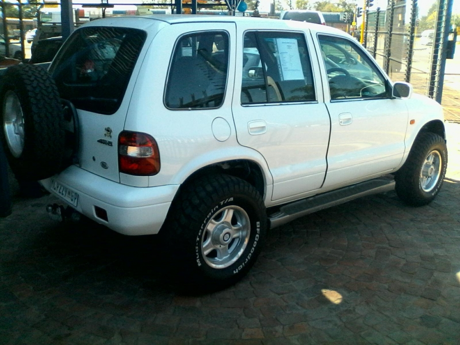 Kia Sportage 2.0 2001 photo - 7