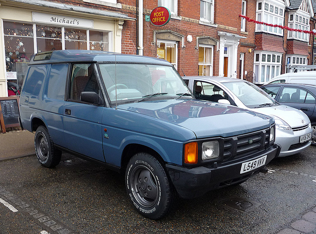Land Rover Discovery 2.5 1994 photo - 1