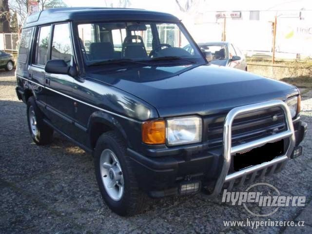 Land Rover Discovery 2.5 1995 photo - 8