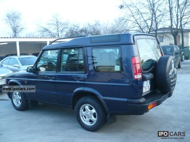 Land Rover Discovery 2.5 2002 photo - 2