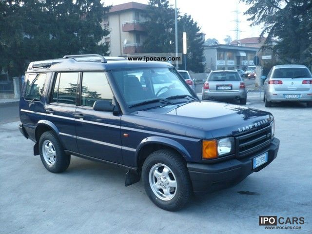 Land Rover Discovery 2.5 2002 photo - 5