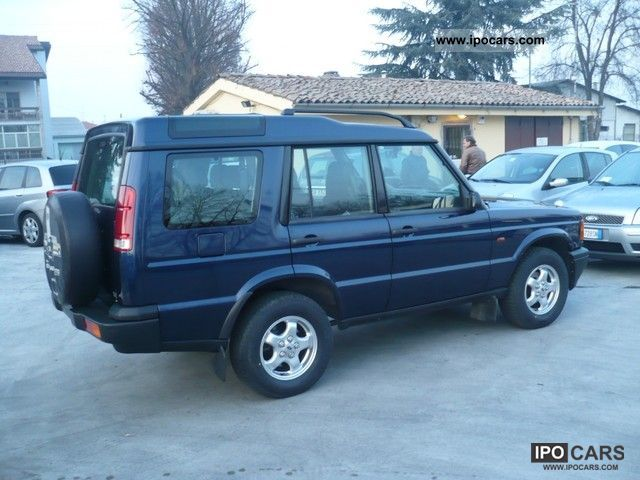 Land Rover Discovery 2.5 2002 photo - 6