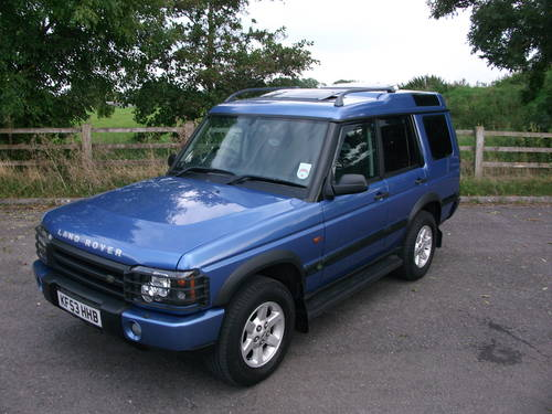 Land Rover Discovery 2.5 2003 photo - 1