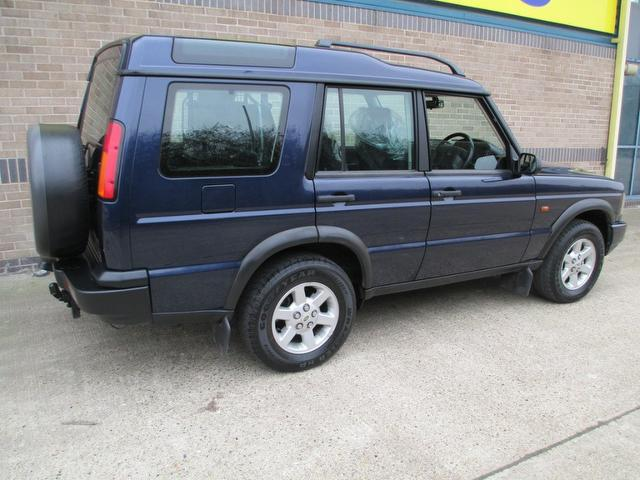 Land Rover Discovery 2.5 2003 photo - 8