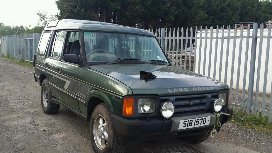 Land Rover Discovery 3.5 1993 photo - 10