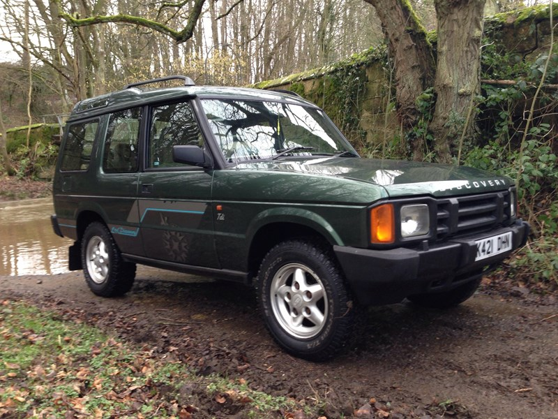 Land Rover Discovery 3.5 1993 photo - 12