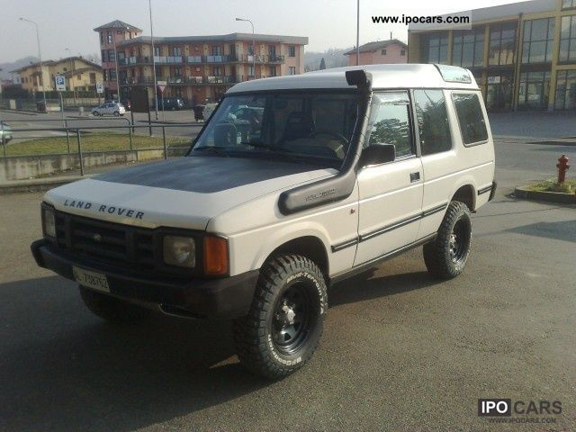 Land Rover Discovery 3.5 1993 photo - 8