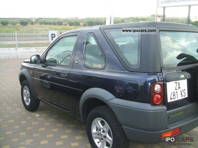 Land Rover Freelander 2.0 2000 photo - 2