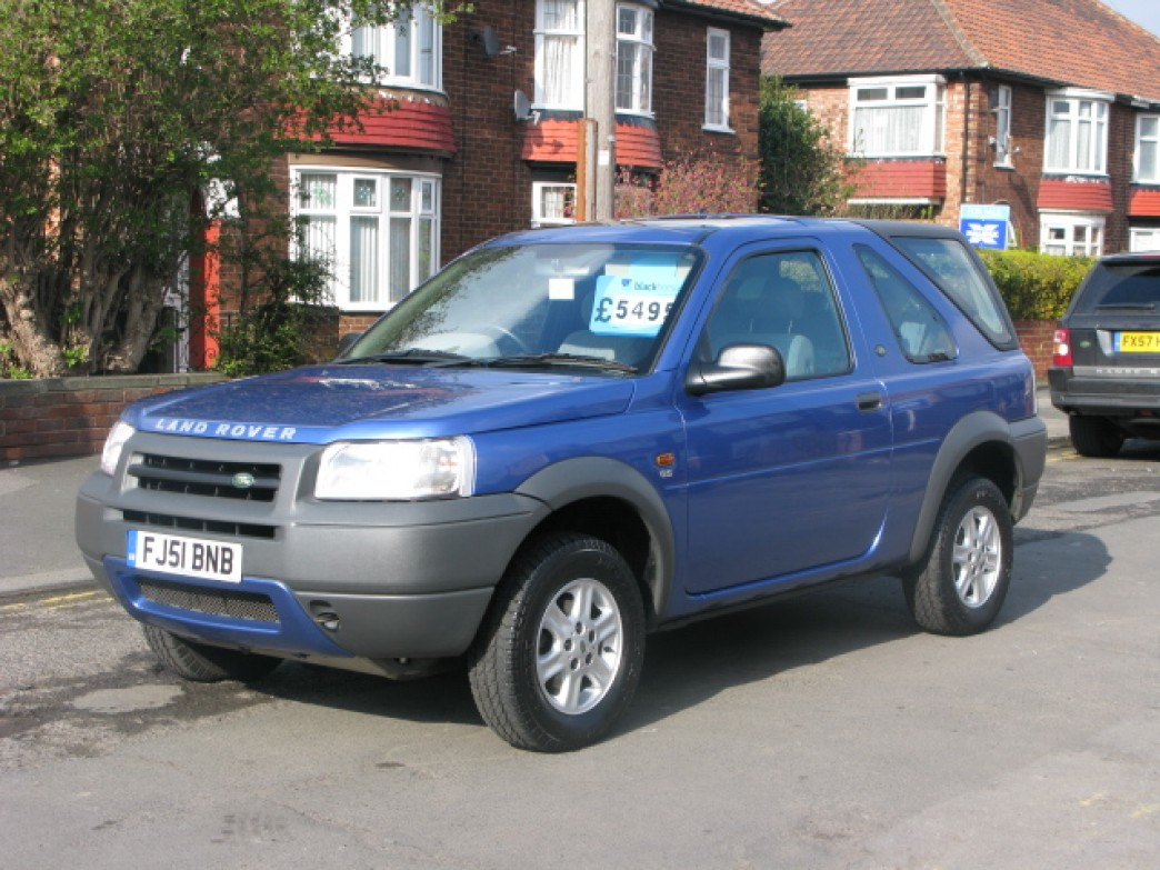 land rover freelander 2 0 2001 technical specifications interior and exterior photo. Black Bedroom Furniture Sets. Home Design Ideas