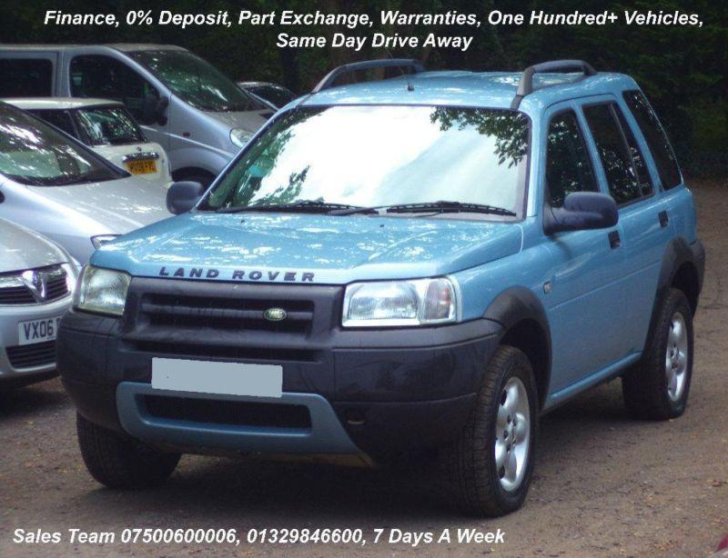 Land Rover Freelander 2.0 2003 photo - 9